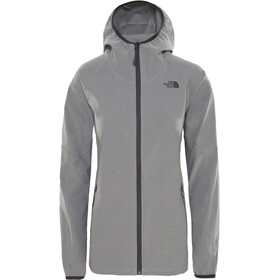 The North Face Apex Nimble Hoodie Damen tnf mid grey heather/tnf mid grey heather